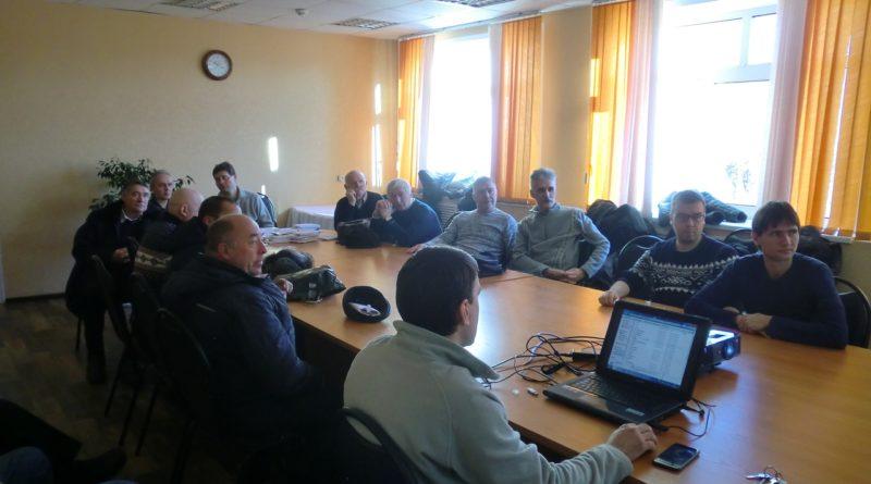 Собрание радиолюбителей 1 декабря 2018 года